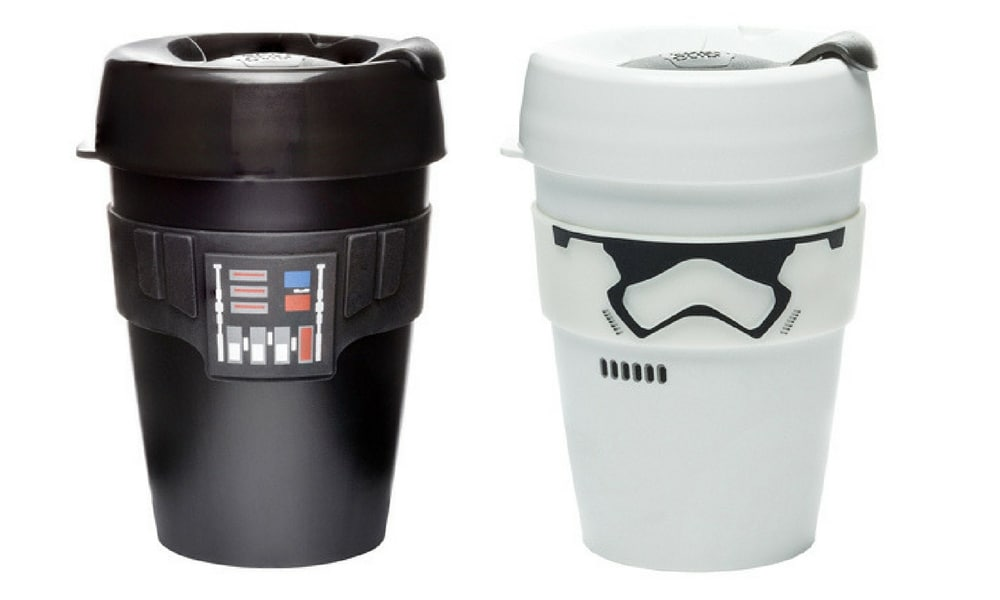 STAR WARS KEEP CUP $26.95 (MYER): For the Star Wars fans in your life this is a no brainer. Keep Cup has released a collection of Star Wars cups including a Storm Trooper and Darth Vader.