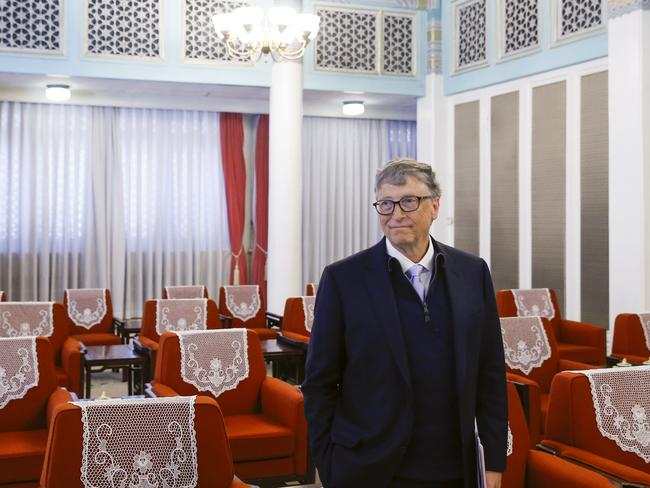 Bill Gates was in China last week, meeting Premier Li Keqiang. Picture: Thomas Peter-Pool/Getty Images