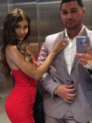 Salim Mehajer and then wife Aysha in happier times.Source:Instagram