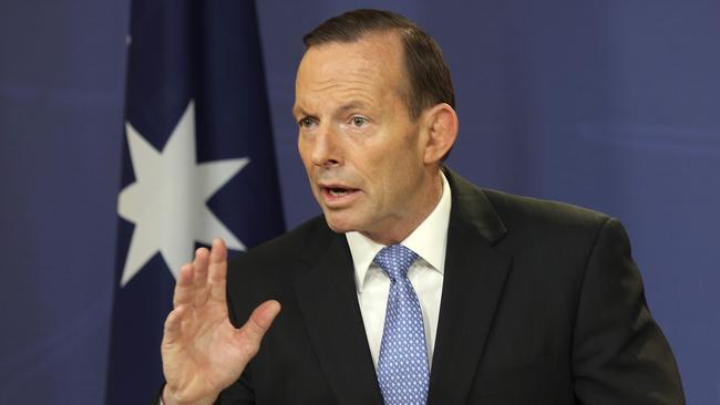 The hunt ... Prime Minister Tony Abbott has vowed to get justice for the victims and their families.