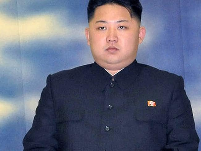 This 2011 picture of Kim Jong-un was taken just weeks before the death of his father Kim Jong-il. Picture: AFP/ KCNA/KNS
