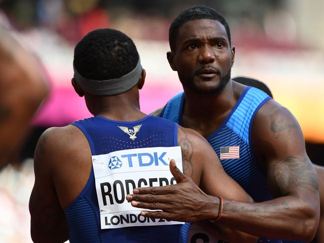 US athlete Justin Gatlin has twice been suspended over doping, in 2001 and 2006.