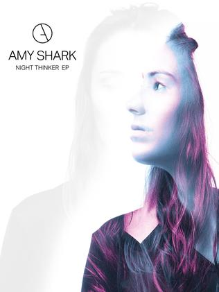 Cover of  <i>Night Thinker</i> by Amy Shark.