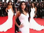 Eva Longoria walks the red carpet at the Cannes International Film Festival 2014. Pictures: Getty