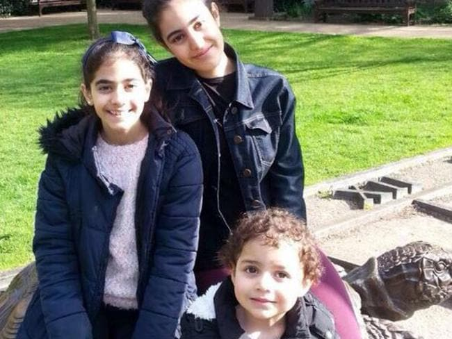 According to the BBC — three sisters Mirna, Fatima and Zainnb are among the missing in Grenfell Tower in the London fire. Picture: Supplied