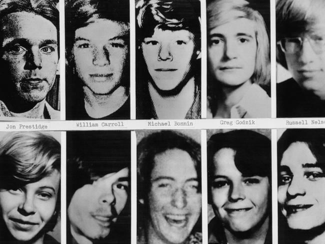 Some of the known victims of serial killer John Wayne Gacy.