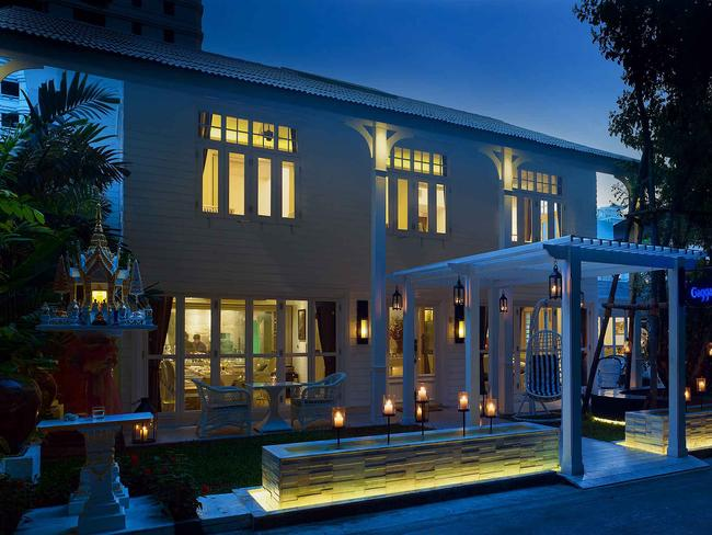 The famous Gaggan Restaurant in Bangkok. Picture: eatatgaggan.com
