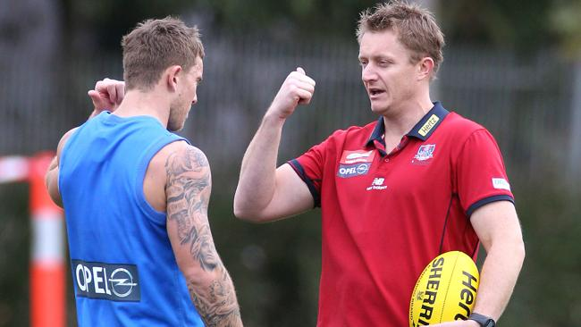 Mark Neeld talks to former Demon Brent Moloney.