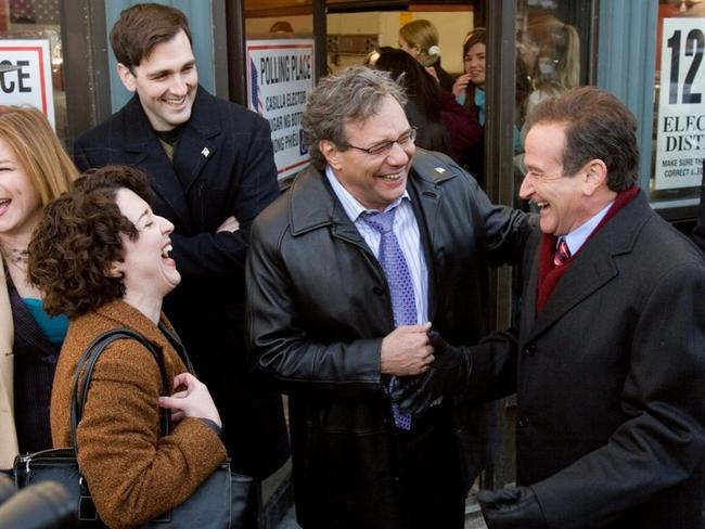 Actor Robin Williams in the 2006 film 'Man of the Year'. Picture: Supplied