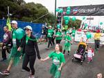 Green gang at the 2014 Chevron City to Surf for Activ. Picture: Matthew Poon
