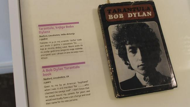 Tarantula, by Bob Dylan. Picture: Connie Ma