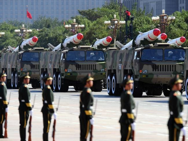 China's military spending is growing by double digits every year.