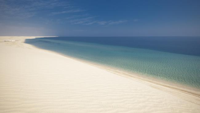 ESCAPE: QATAR .. Brad Couch story .. dune experience in Qatar. Picture: Supplied