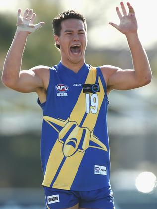 Cameron Rayner is in the mix to be the No.1 pick at the draft. Picture: Getty Images