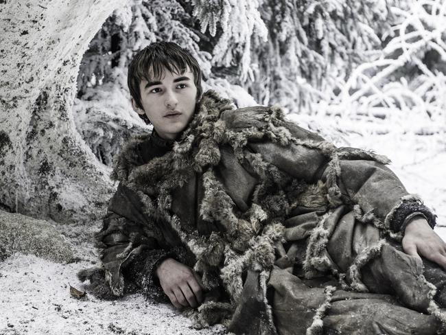 Bran Stark now shows about as much emotion as a tree. Picture: HBO