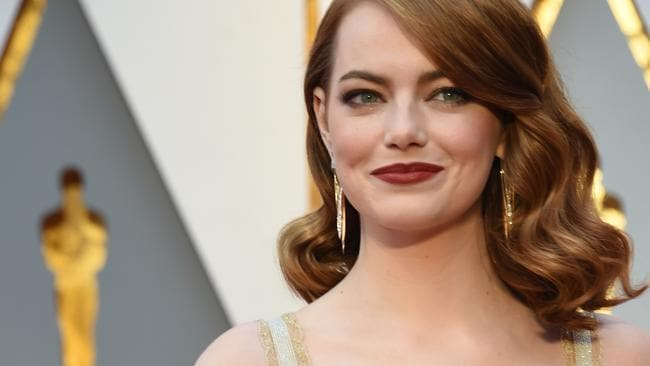 Emma Stone rocks the coppertop even though she's a natural blonde.