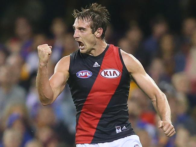 Essendon skipper Jobe Watson has shown his class and poise in pressure situations over recent seasons.