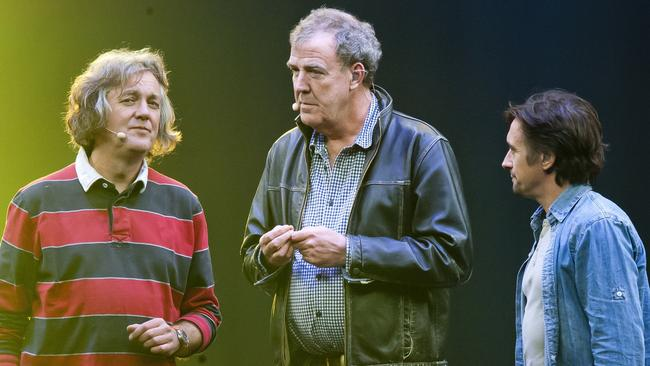 TV insiders say the lure of James May, Jeremy Clarkson and Richard Hammond's new show The Grand Tour on Amazon would be the perfect entry of Amazon Prime into the Australian streaming market. Picture: Supplied