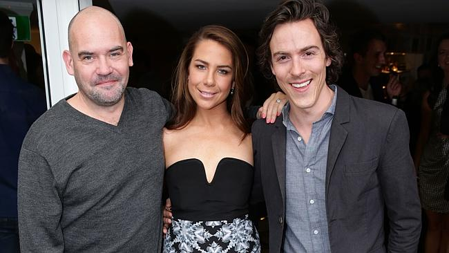 Marty Sheargold, Kate Ritchie and Tim Blackwell.