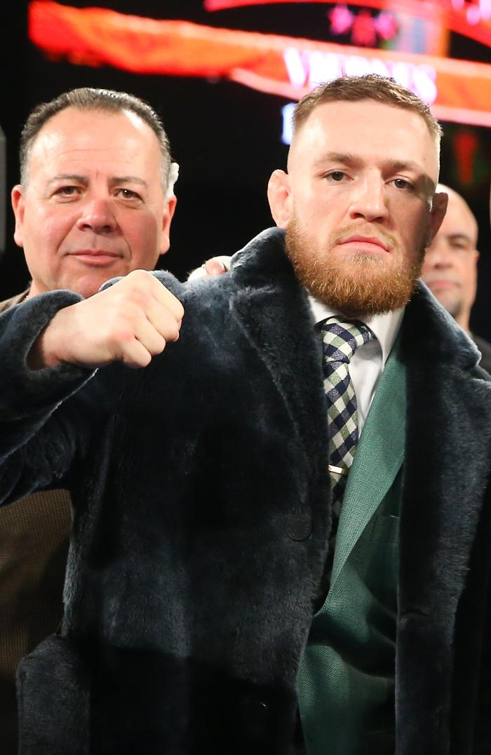 Conor McGregor at The Theater at Madison Square Garden.