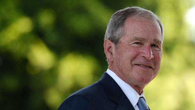 Former Us President George W Bush Says Clear Evidence