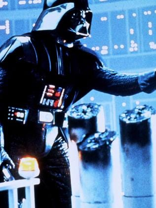 Darth Vader in a scene from The Empire Strikes Back.