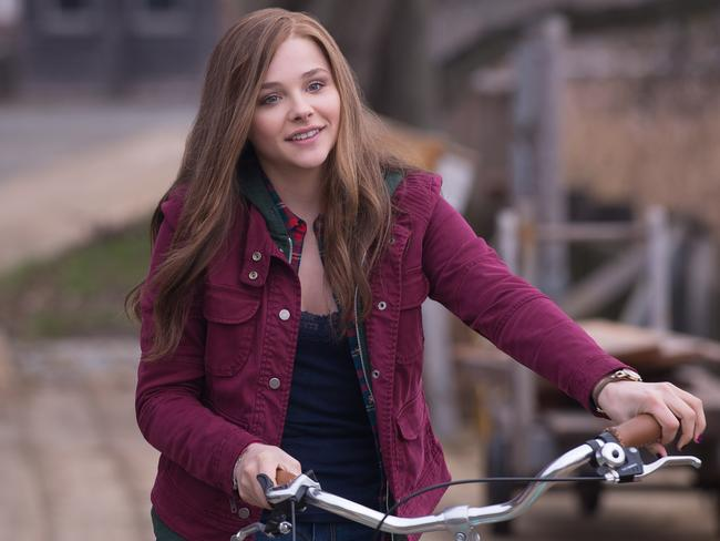 Fell flat ... Chloe Grace Moretz in If I Stay.
