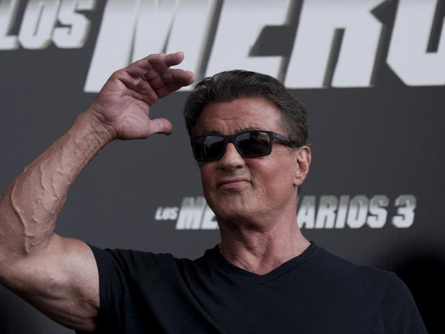 Sylvester Stallone at the premiere of The Expendables 3.