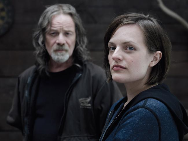 Elizabeth Moss will reprise her role as detective Robin Griffin in the second series of murder mystery Top Of The Lake. Picture: Supplied / ABC