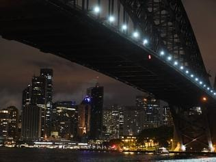 In a long exposure image, the Sydney skyline is seen during earth hour in Sydney, from Milsons Point, Sydney, Australia, Saturday, March 25, 2017. At 8.30pm Australian Eastern Time, Sydney residents turn off their lights for just one hour, as a sign of their commitment to reduce global warming, with the movement now celebrated in over 172 countries and over 7000 cities and towns worldwide. (AAP Image/ Sam Mooy) NO ARCHIVING