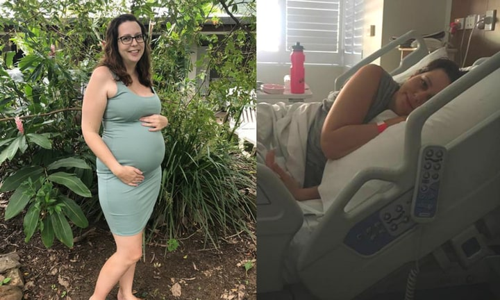 'I had a stroke when I was eight weeks pregnant'