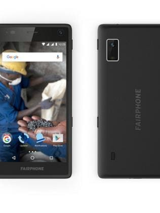 The Android phone is now in its second generation. Picture: Fairphone.