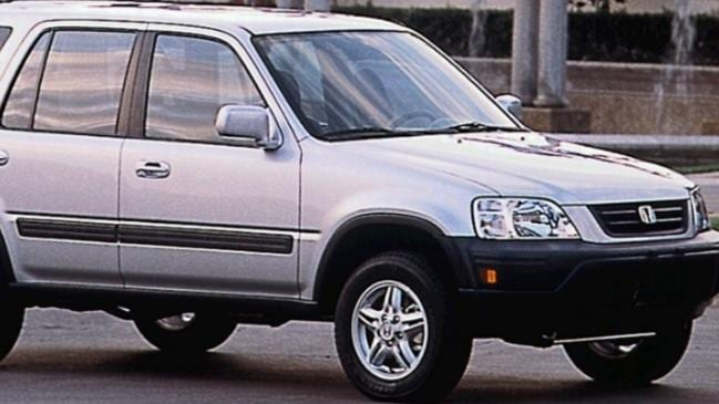 A Honda CRV similar to the car police believe is linked to the shooting. Picture: Victoria Police