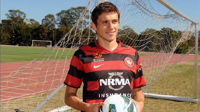 Western Sydney Wanderers Croatian midfielder Mateo Poljak, who came through the Dynamo Zagreb youth system and remembers a young Mark Viduka making his mark at the club.