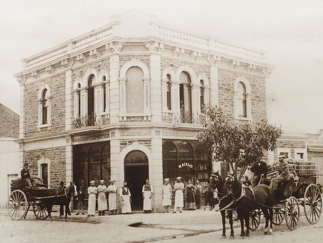 The old W Menz & Co factory built in 1850 in Wakefield St. Picture: Supplied. .