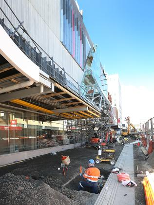 Myer Store Work Ramps Up