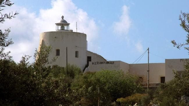 Cape Milazzo is just one of the lighthouses set to be transformed into a luxury resort. Picture: Italy state landlord