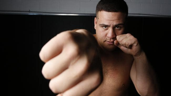 Tuivasa admits he wasn't suited to the life of a rugby league player.