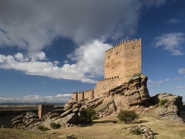 The striking Zafra Castle is a 13th century fortress in Guadalajara province. Picture: iStock