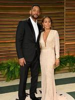 Will Smith and Jada Pinkett Smith attends the 2014 Vanity Fair Oscar Party. Picture: Getty