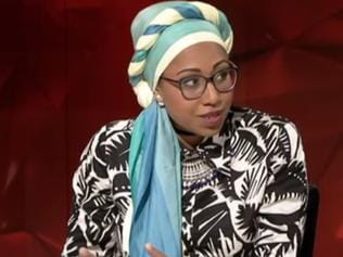 Yassmin Abdel-Magied on Q and A. Picture: ABC
