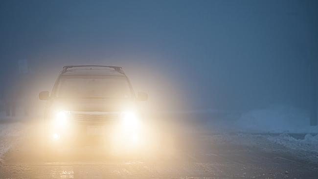 Don't linger with the fog lights, it could cost you. Picture: Su...