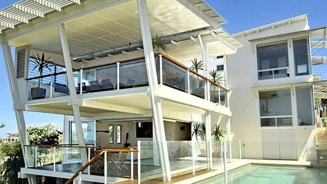 Kevin Rudd's home on the Sunshine Coast. Supplied.