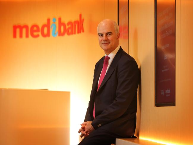 Medibank CEO Craig Drummond. The company says it will offer more information to customers to help them choose specialists.