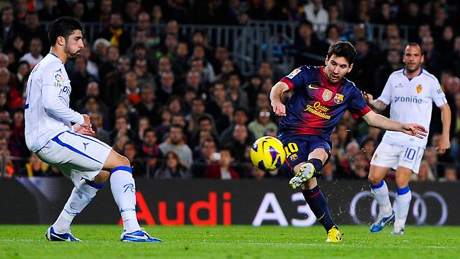 Lionel Messi continues prolific goal scoring for Barcelona