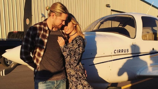 Chord Overstreet and Brooke Butler. Photo: Instagram