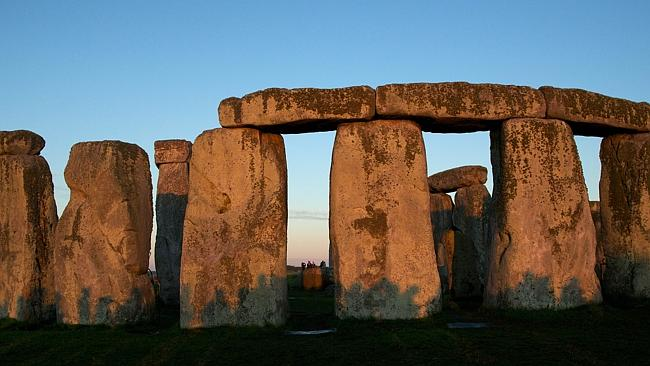 Really, it's not this big: prehistoric monument Stonehenge, in central southern England. Picture: AFP.