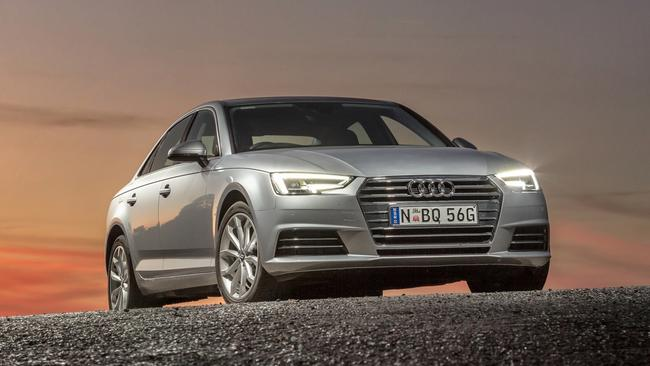 Runner-up: Audi's technical tour-de-force, the A4 sedan.