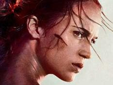 Alicia Vikander stars as Lara Croft in the new Tomb Raider movie.