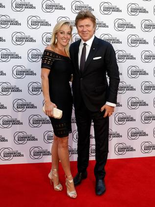 The couple at the ACRAs in October.
